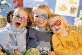 Меры, принимаемые для лечения косоглазия у детей