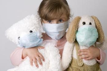 Проникновение вируса полиомиелита в организм ребенка
