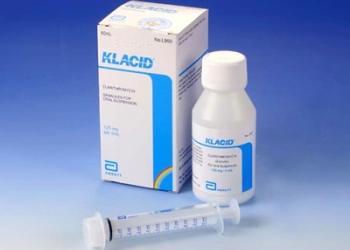 Детский антибиотик Клацид при отите