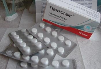 Инструкция по применению ноотропного средства для детей Пантогам в таблетках