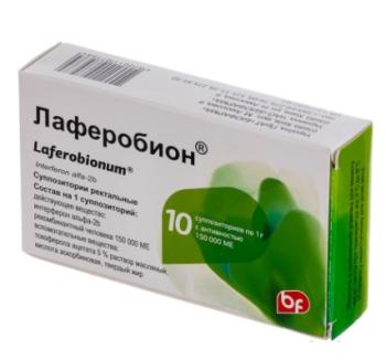 Суппозитории в упаковке