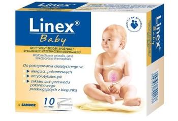 Как работает препарат Линекс для детей?