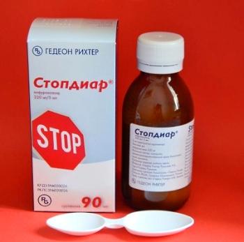 Состав и форма выпуска препарата Стопдиар для детей