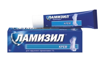 Ламизил крем в упаковке