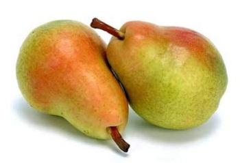 Две спелые груши