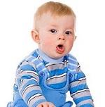 У малыша сильный кашель