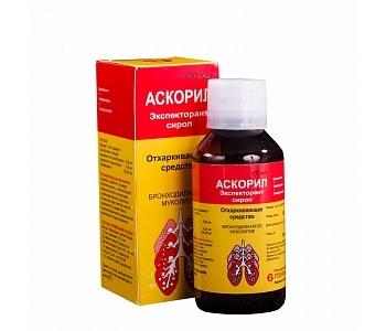 Аскорил (таблетки, сироп) – инструкция по применению, аналоги.