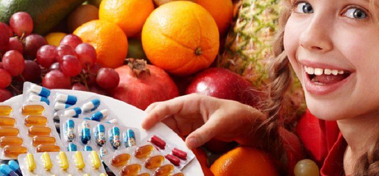 Витамины для роста детей - выбор наиболее подходящего витаминного комплекса