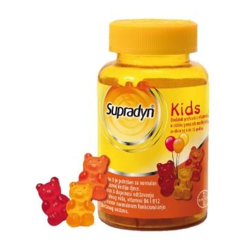 Витамины для детей для повышения иммунитета Супрадин Кидс