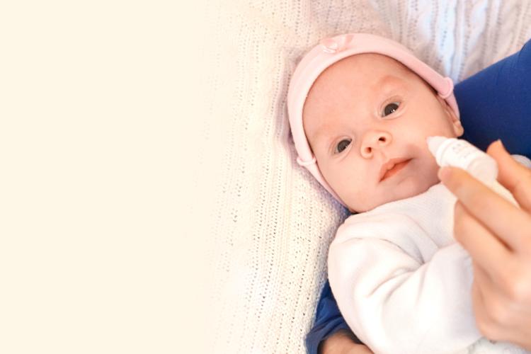 Как капать капли в нос новорожденному