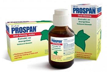 Сироп от кашля для детей Проспан и его действующее вещество