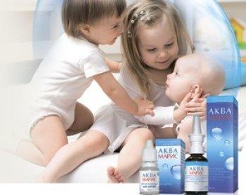 Эффективность препарата Аквамарис для новорожденных и грудничков