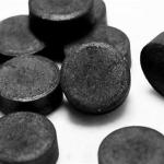 Таблетки черного цвета