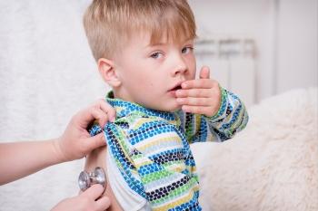 У мальчика начался кашель