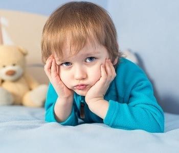 Мальчик с грустными галазами