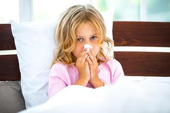 Девочка сильно болеет