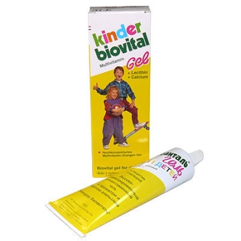 Киндер Биовиталь гель для детей: меры предосторожности