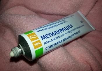 Инструкция по применению метилурациловой мази для детей: состав и форма выпуска