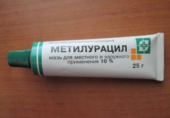 Инструкция по применению метилурациловой мази для детей: как правильно наносить?