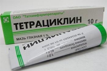 Состав и особенности применения тетрациклиновой мази для детей