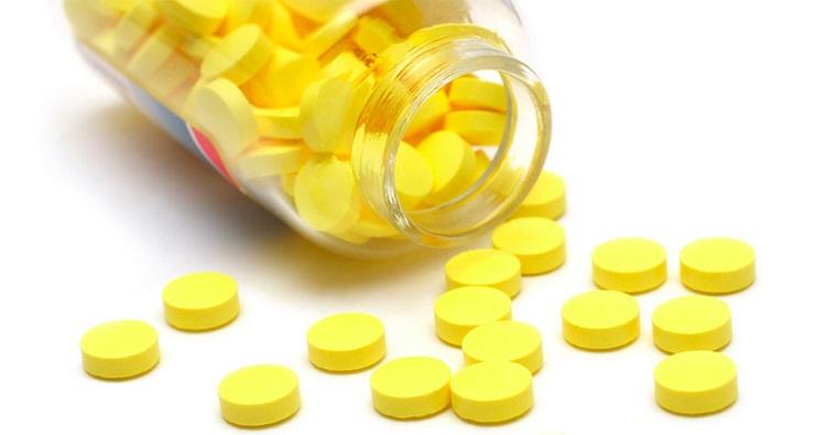 Таблетки желтого цвета