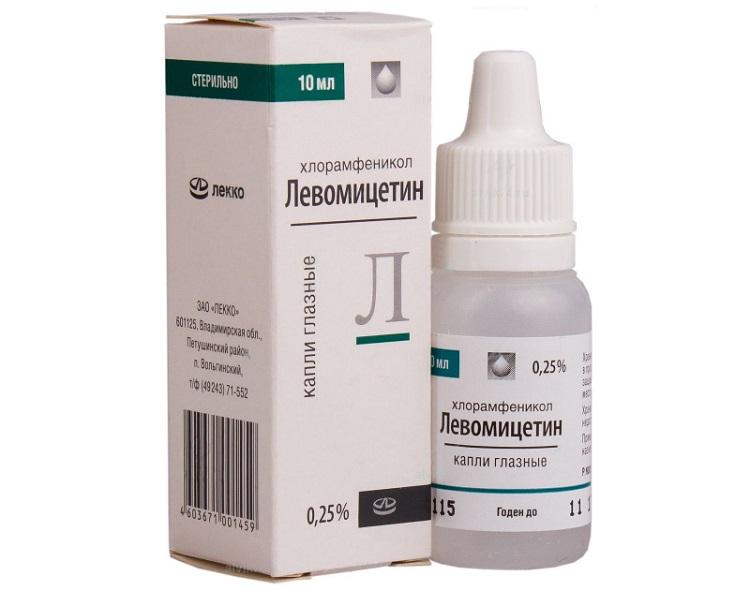 Левомицетин 0,25%