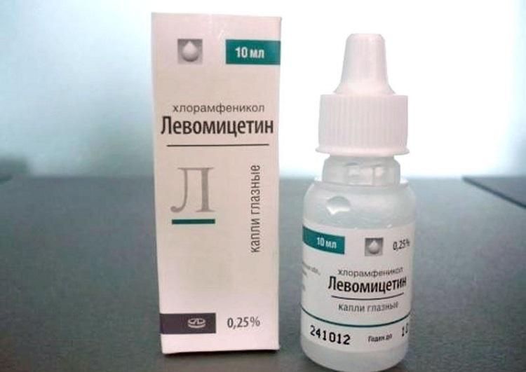 Левомицетин в упаковке