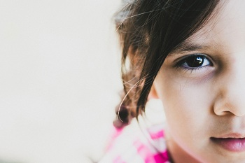 Красивые детские глаза