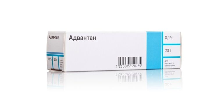 Мазь Адвантан при лечении диатеза у детей