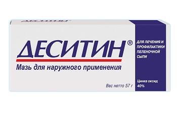 Деситин для наружного применения