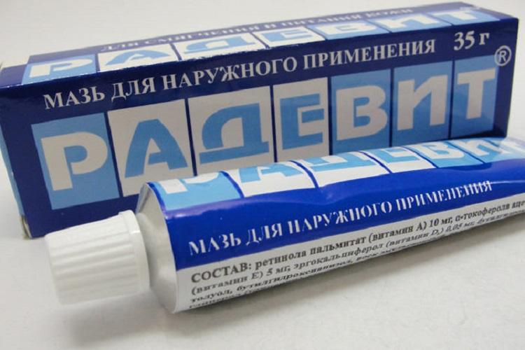 Мазь Радевит при атопичсеком дерматите у детей - правила использования