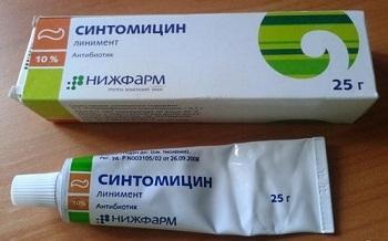 Побочные действия Синтомициновой мази при использовании у детей