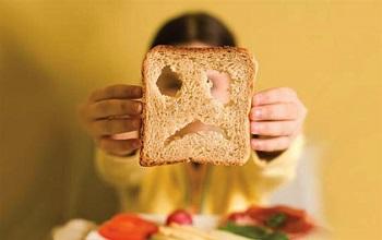 Кусок ржаного хлеба