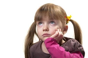 Девочка с грустными глазами
