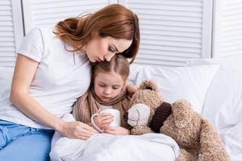 Дочь заболела