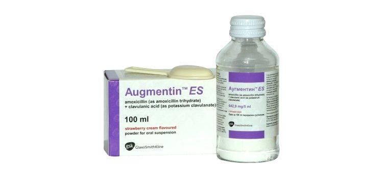 Суспензия Аугментин для детей: инструкция по применению и особенности