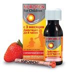 Нурофен детский в сиропе - показания к применению жаропонижающего средства