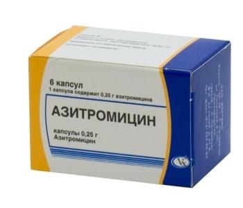 Азитромицин для детей инструкция