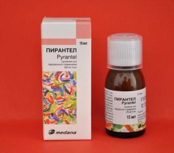 Передозировка суспензии Пирантел для детей
