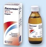Сироп от кашля для детей Лазолван - инструкция по применению и отзывы о препарате