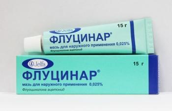 Мазь от аллергии на коже у детей Флуцинар
