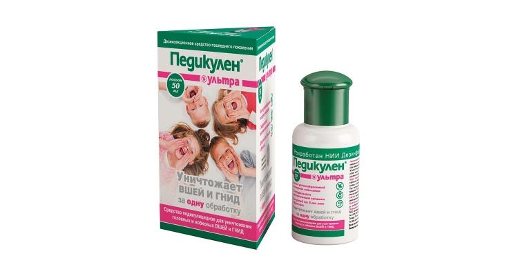 Шампунь Педикулен-ультра от вшей и гнид для детей