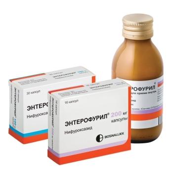 Симптомы и методы лечения дисбактериоза у грудничка: кишечный антибиотик Энтерофурил