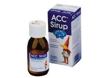 Сироп от кашля для детей АЦЦ: инструкция по применению, состав и форма выпуска