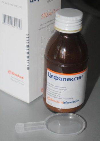 Общая характеристика суспензии Цефалексин для детей