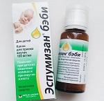 Препарат Эспумизан беби и его действие на организм новорожденного