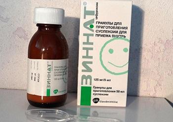 Препарат Зиннат в виде суспензии для детей и как он действует на организм ребенка