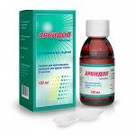 Схема приема таблеток и суспензии Арбидол для детей