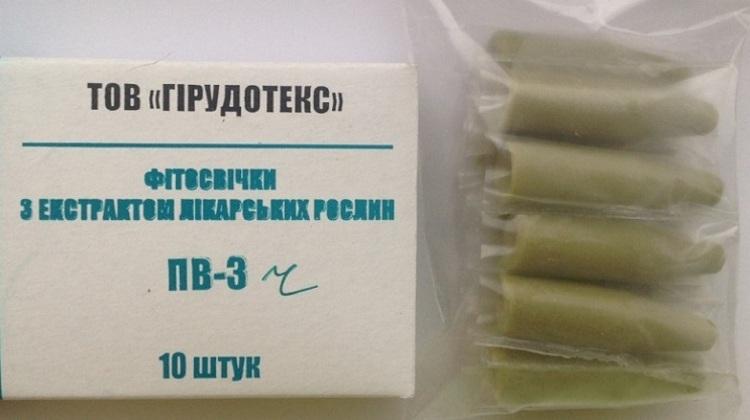 Свечи от глистов для детей - применение Гирудотекста
