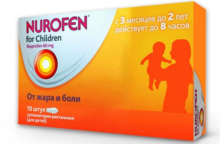 Свечи Нурофен при прорезывании зубов у детей - инструкция по применению